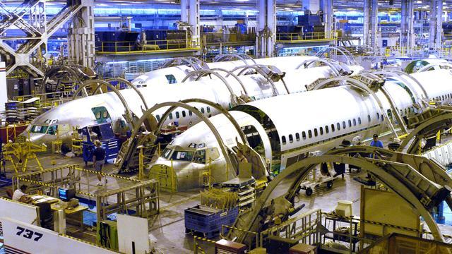 Boeing levert 184 vliegtuigen in eerste kwartaal
