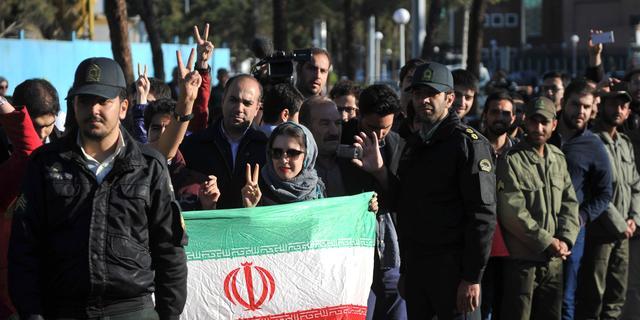 Raketten op kamp met Iraniërs bij Bagdad