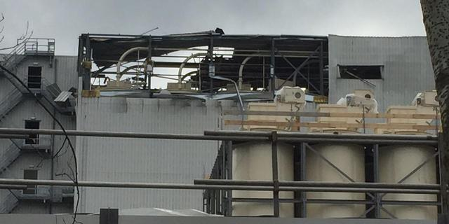 Explosie in bedrijfspand diervoederproducent Voorthuizen