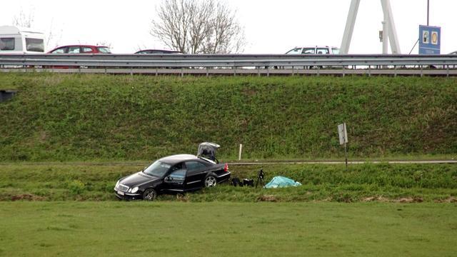 Auto met explosieven leidt tot lange files op A27
