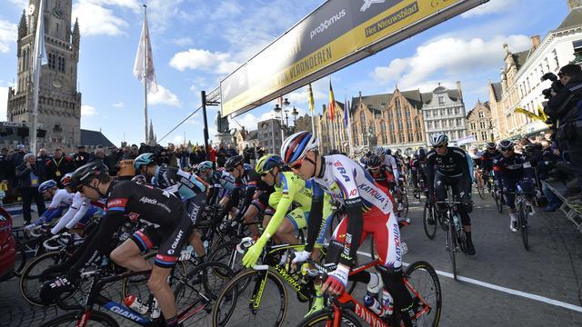 De Ronde van Vlaanderen vanaf de fiets gefilmd