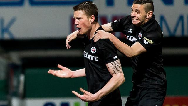 Heracles pakt drie punten in Dordrecht, Heerenveen en NAC scoren niet