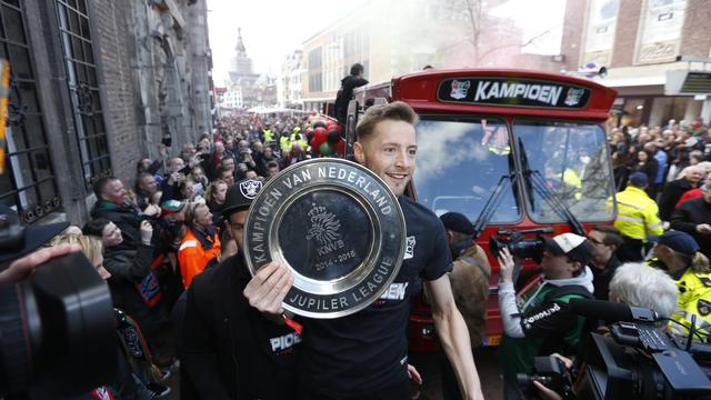 Fotoserie: NEC gehuldigd na titel in Jupiler League
