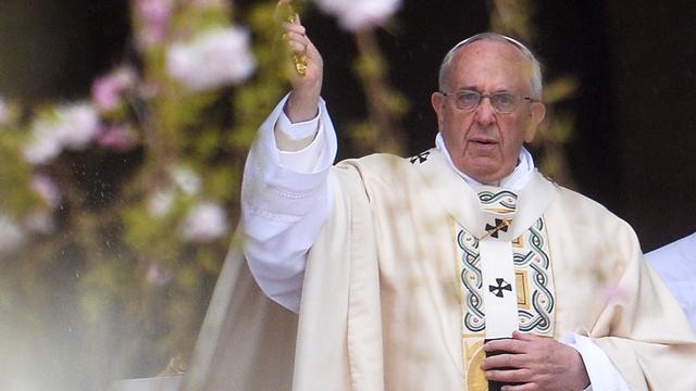 Paus Franciscus spreekt jaarlijkse Urbi et Orbi uit