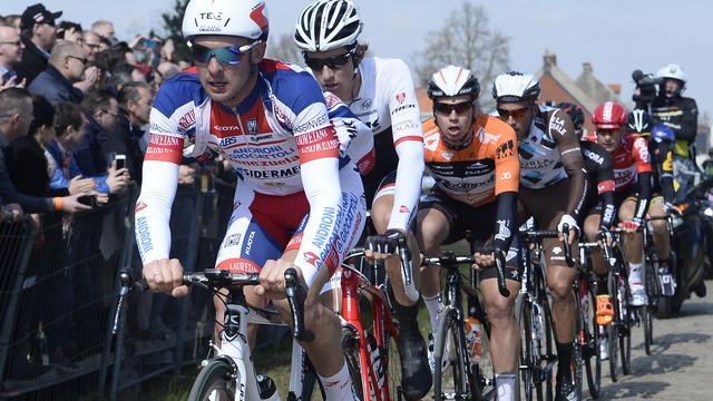 Sergent weet niet wat er gebeurde bij aanrijding in Ronde van Vlaanderen