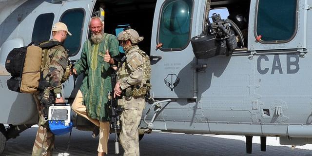In Mali ontvoerde Nederlander Sjaak Rijke bevrijd