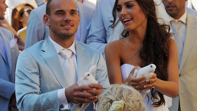 Yolanthe Sneijder-Cabau eert 'soulmate' Wesley Sneijder