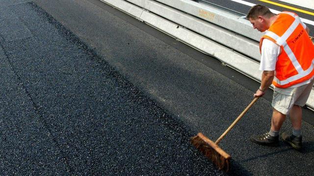 Verkeersroute aangepast door vernieuwing asfalt Terheijdenseweg