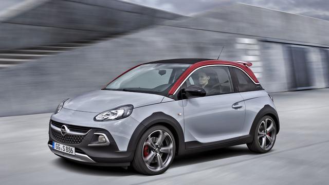 Opel bepaalt prijs Adam Rocks S