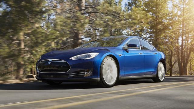 Tesla Model S en X als P100D