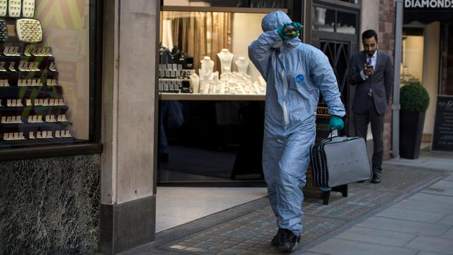 Zeven arrestaties wegens grote kluiskraak in juwelendistrict Londen
