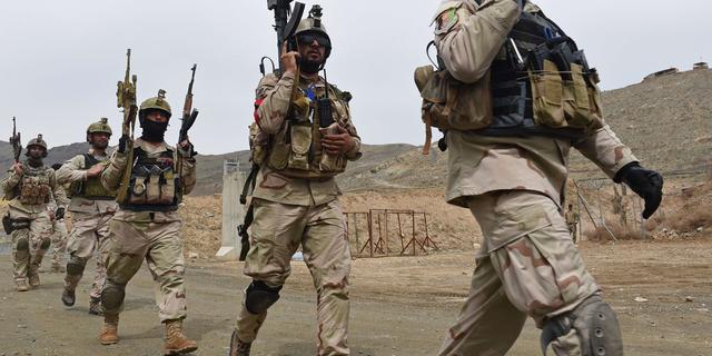 Afghaanse en Amerikaanse militairen neergeschoten op basis Afghanistan