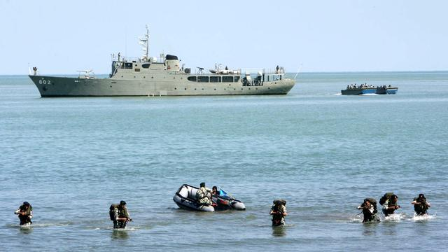 Iran stuurt marine naar kust Jemen