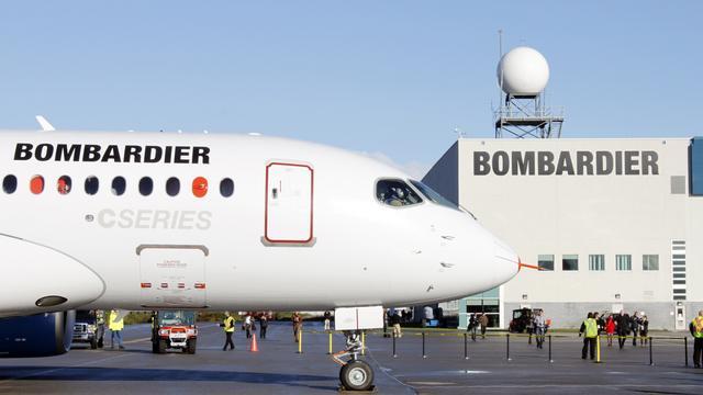 Bombardier met deel spoordivisie naar beurs