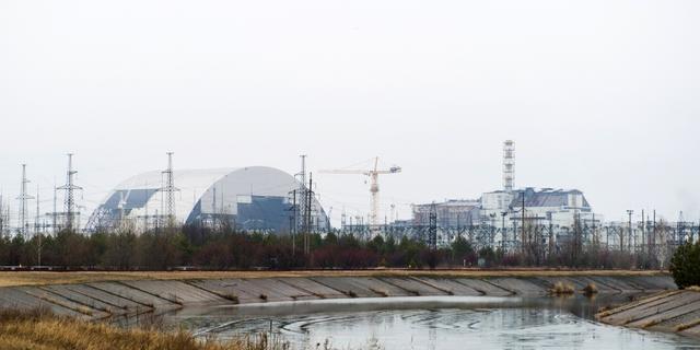 Bosbrand bedreigt kerncentrale Tsjernobyl