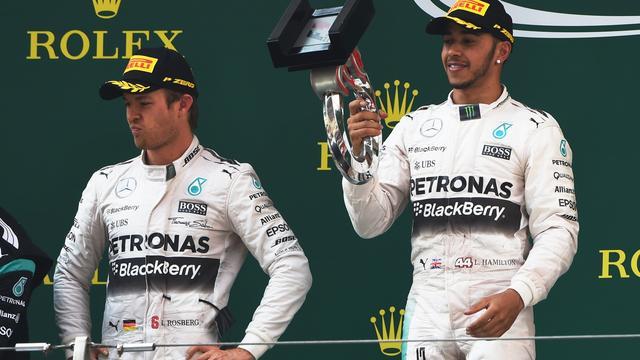 Rosberg haalt na race in Shanghai uit naar teammaat Hamilton