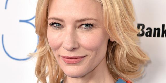 Cate Blanchett was vroeger 'sociaal onhandig'