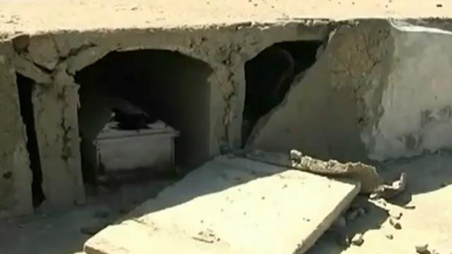 Lichamen gestolen van begraafplaats Peru