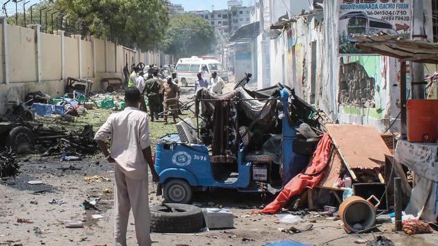 Dertien doden bij bomaanslag Somalië