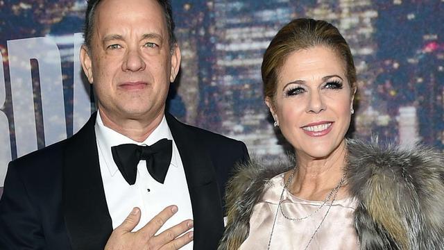 Tom Hanks speelt samen met echtgenote Rita Wilson in toneelstuk