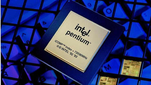 Intel Pentium 1993, 3.100.000 transistors