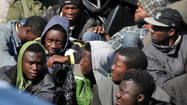 Libië wijst EU-plan tegen mensensmokkelaars af