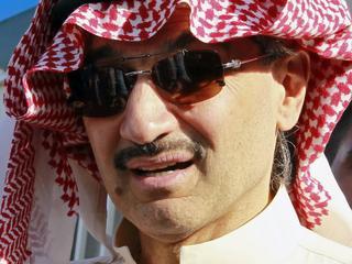 Prins Al-Waleed bin Talal is één van de tientallen mensen die zijn opgepakt