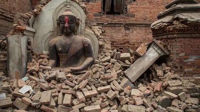 Dodental van aardbeving Nepal loopt op naar 7.557