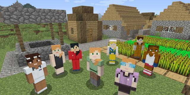 Spelers kunnen geslacht en huidskleur kiezen in Minecraft: Story Mode