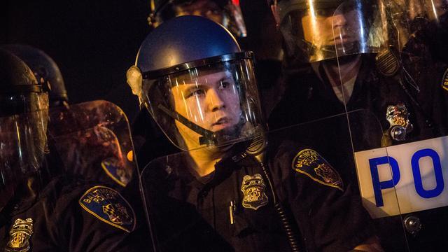 'Sprake van discriminatie bij politiekorps Baltimore'