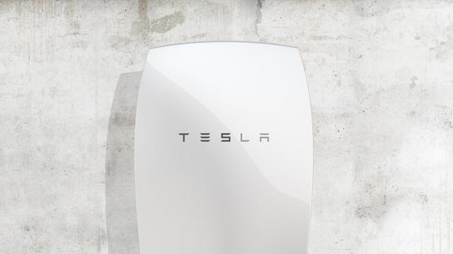 Tesla introduceert accu voor huishoudens met zonne-energie