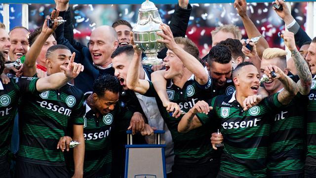 FC Groningen pakt eerste KNVB-beker in clubhistorie ten koste van PEC