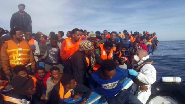 'EU-landen wachten te lang met ingrijpen bootvluchtenlingen'