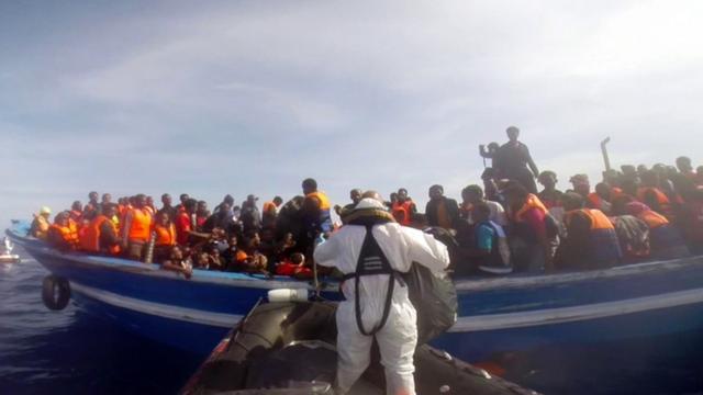 'Enkele tientallen bootvluchtelingen verdronken op Middellandse Zee'