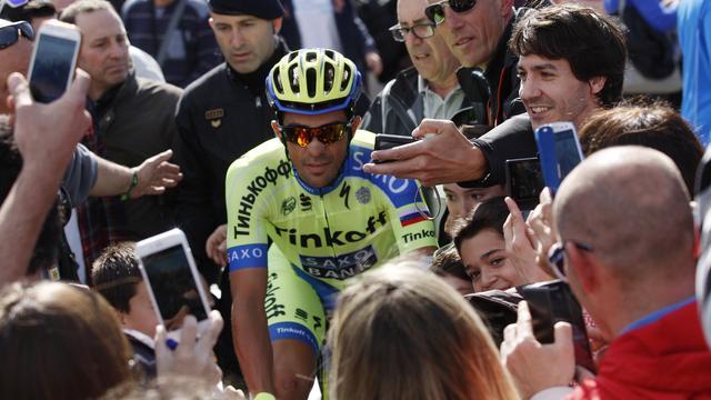 Contador troeft Quintana af in koninginnenrit Route del Sud