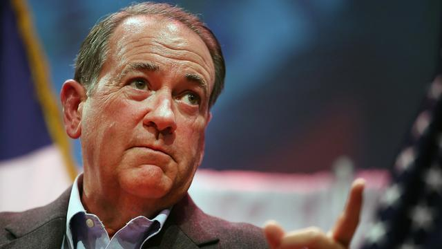 Republikein Mike Huckabee doet gooi naar presidentschap VS