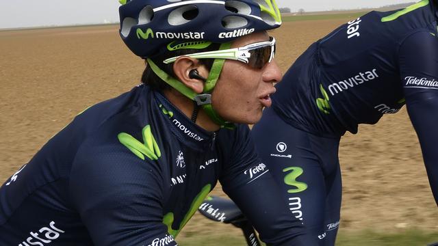 Movistar met broertje Quintana in Ronde van Italië
