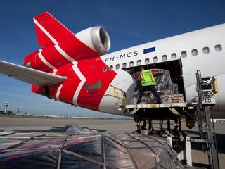 In laatste vier jaar is goederenvervoer door de lucht met 5,5 procent gegroeid