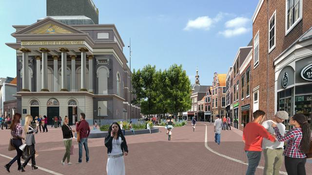 Plannen herinrichting Haarlemmerstraat vastgesteld