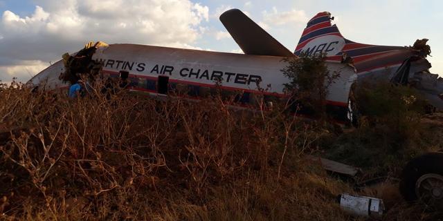 Gecrasht toestel Zuid-Afrika niet te herstellen voor museum Aviodrome