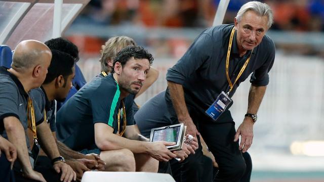 Van Marwijk en Van Bommel willen met Australië tweede ronde halen op WK