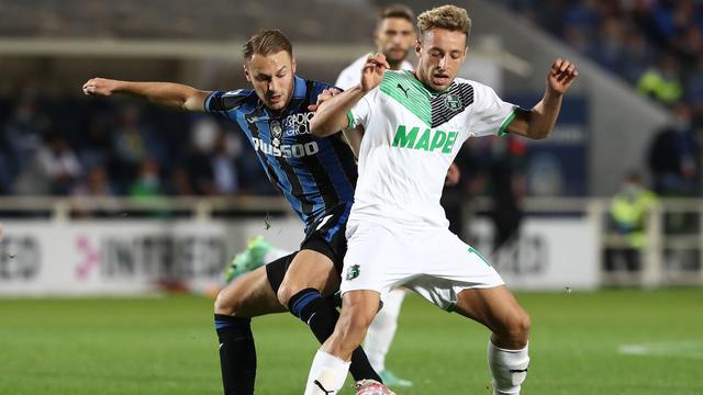 Teun Koopmeiners stond tegen Sassuolo voor het eerst in de basis bij Atalanta.