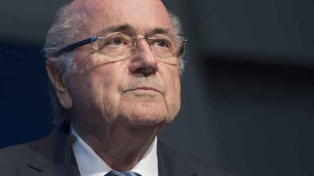 Blatter stelt dat Franse en Duitse politiek WK in Qatar wilden