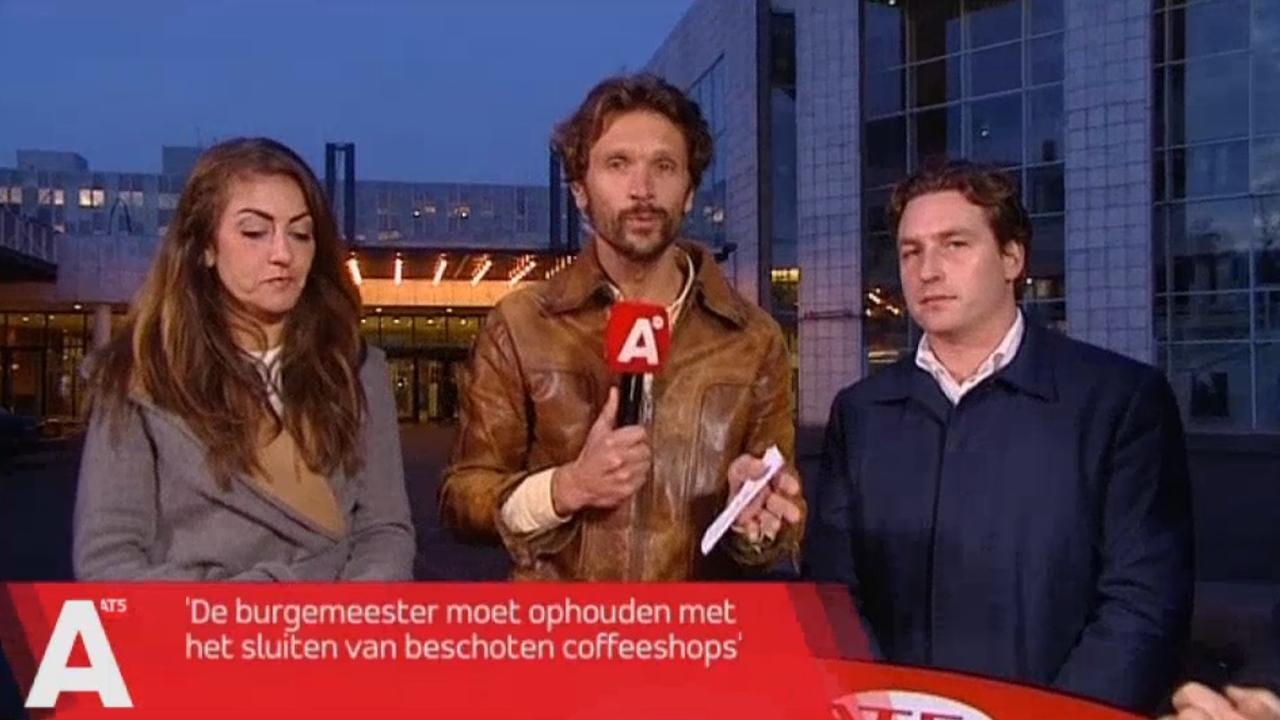 Amsterdamse politiek verdeeld over sluiten coffeeshops