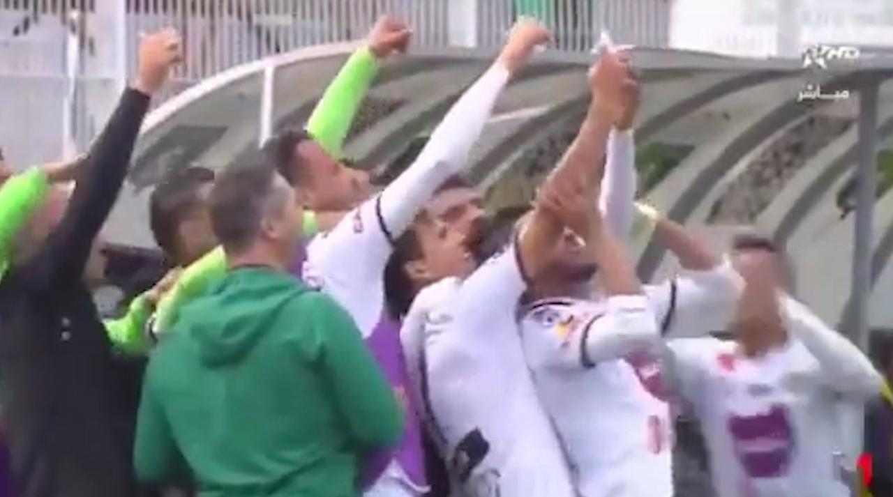 Groepsselfie na goal leidt in Marokko tot tegentreffer