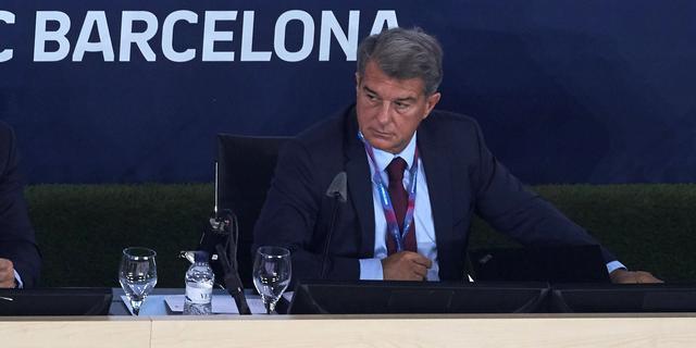 Barça-preses gelooft nog in Super League en haalt uit naar 'demagogen' UEFA
