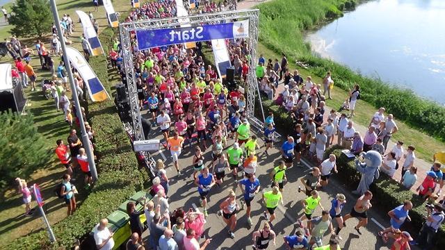 Vestingloop Willemstad heeft Running Blind als goede doel