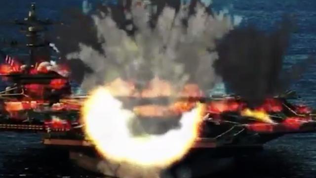 Noord-Korea brengt propagandavideo uit waarin Trump in vlammen opgaat