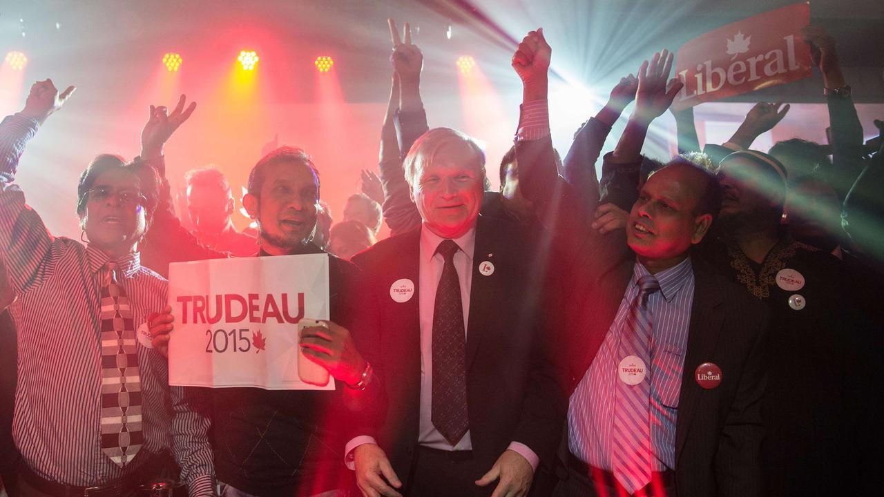 Liberalen winnen verkiezingen Canada