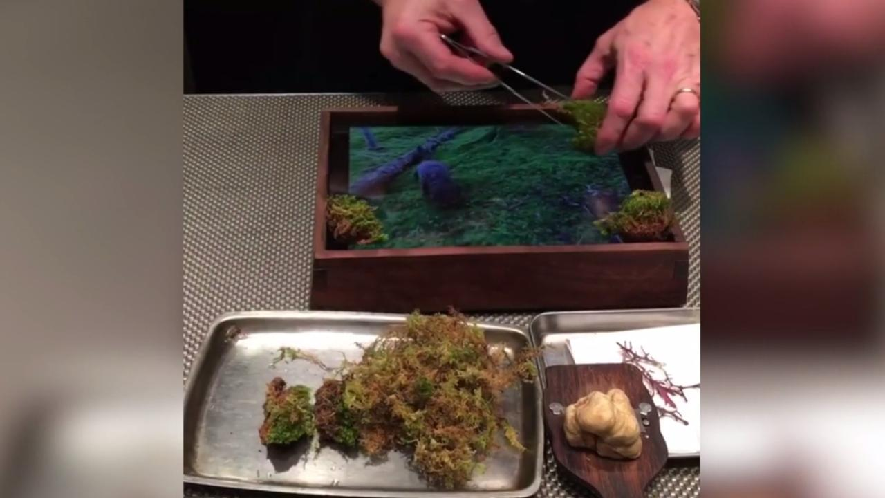 Michelin-restaurant vervangt borden door iPads